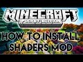 How to install Shaders Mod - Minecraft PE 0.15.0/0.16.0