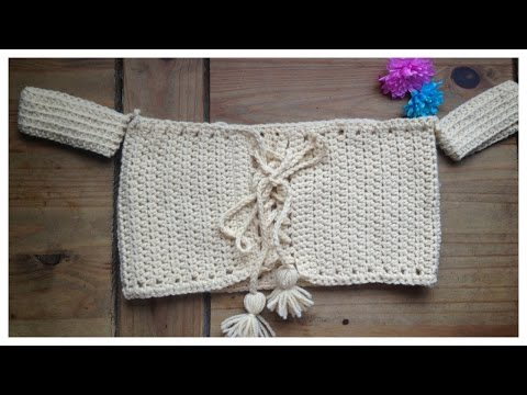 Crochet Lace Up Bandeau Bikini Tutorial