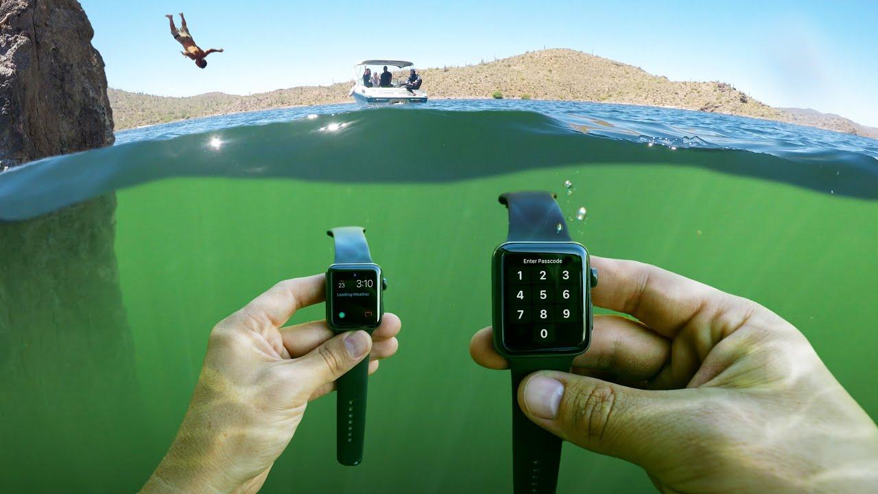 What's Underwater Beneath Popular Arizona Cliff? (Parental Advisory)