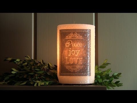 Vickie & Jo Ann's Favorite Find...a charming flameless candle!