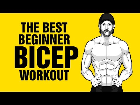 The Best Bicep Workout For Beginners - No Equipment Needed