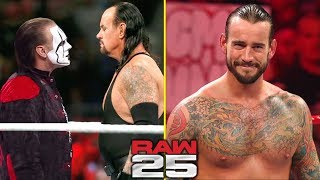 10 Surprises Rumored for WWE RAW 25th Anniversary
