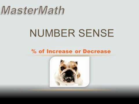 Number Sense - Percent of Increase or Decrease: 7th grade math