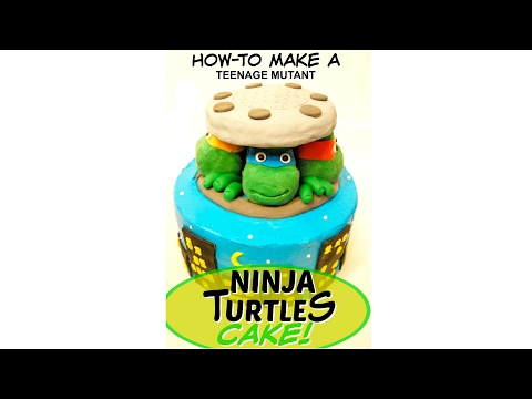 TEENAGE MUTANT NINJA TURTLES CAKE! - MISS TRENDY TREATS