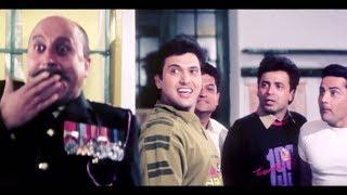 गोविंदा की बेस्ट कॉमेडी - Anupam Kher - Govinda Best Scenes Compilation - Shola Aur Shabnam
