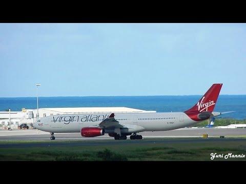 Xxx Mp4 Virgin Atlantic VS33 Airbus A330 300 Landing In Antigua 3gp Sex