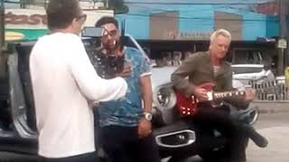 Shaggy And Sting Spotted Recording In Kingston Jamaica mp3