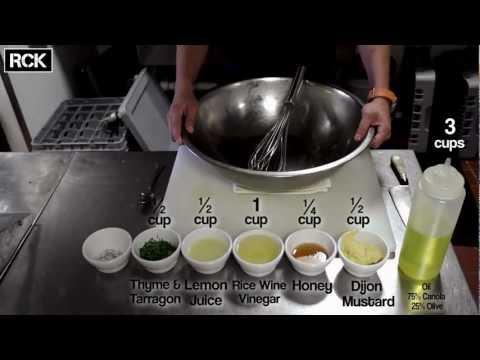How to make a Lemon Vinaigrette