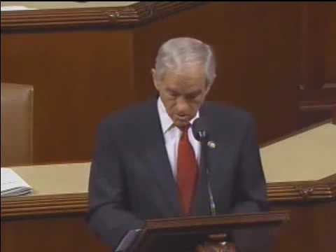Ron Paul Current Conditions or Just a Bad Dream 05 19 2009