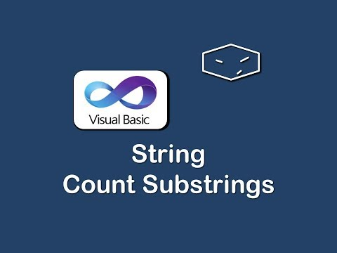 string count substrings in vb.net