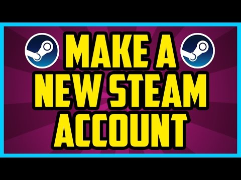 How To Make A New Steam Account For Free 2017 - Create New Steam Account And Sign Up For Steam