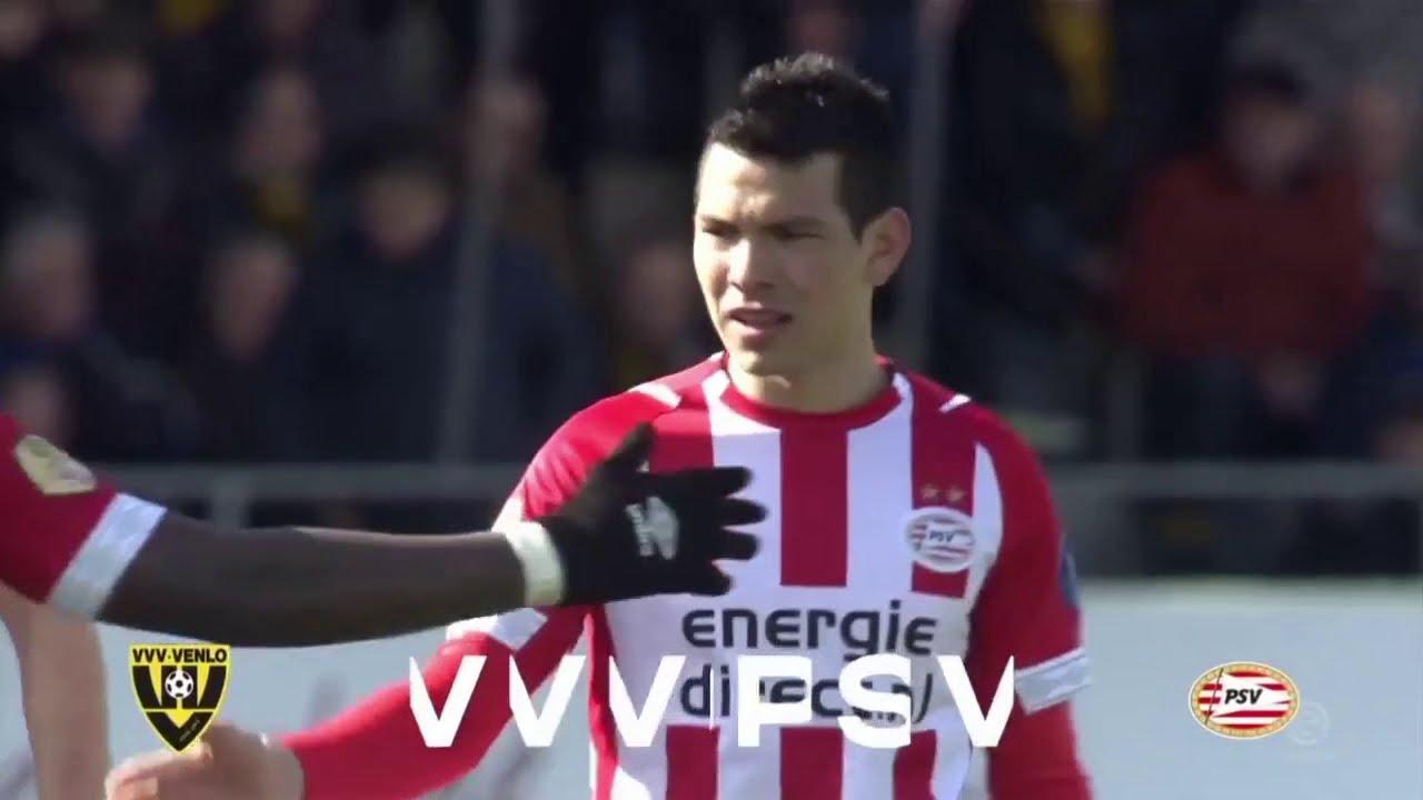 Chucky Lozano da triunfo al PSV vs Venlo (HD) 17/03/19