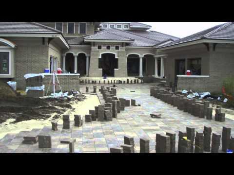 Jacksonville New Construction Brick Paver Driveway Installation Spotlight Video