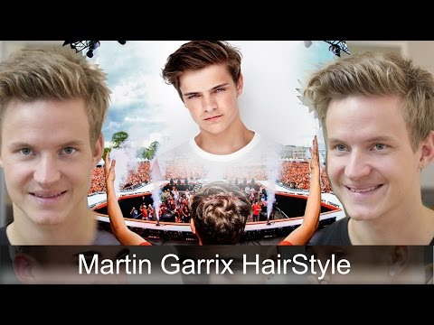 Martin Garrix Hairstyle Tutorial | Men's Hair Inspiration | By Vilain