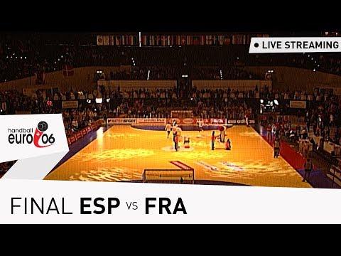 Men's EHF EURO 2006 Final | Spain vs France | Live stream | Throwback Thursday