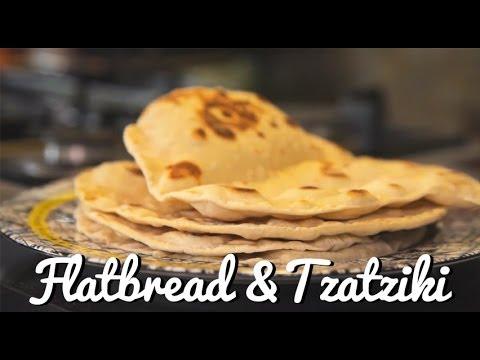 Flatbread and Tzatziki Recipe