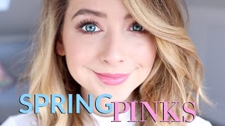 Spring Pinks Makeup Look | Show & Tell | Zoella