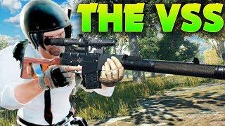 Battlegrounds: VSS SILENCED Sniper Rifle
