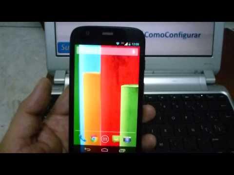 Características del Motorola Moto G XT1032 En Español YouTube Full HD