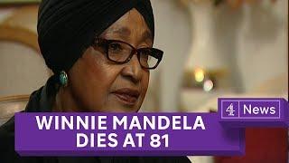 Winnie Mandela Dies At 81