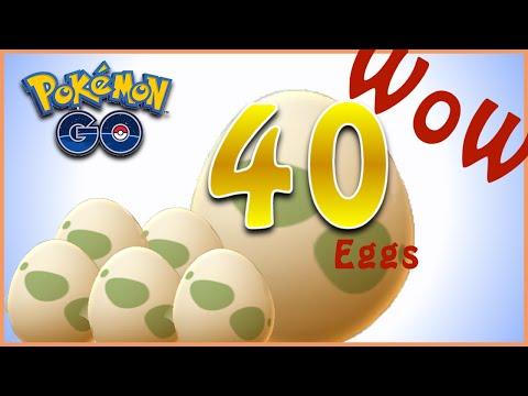 Pokemon GO 40 10KM and 5KM egg Hatching.