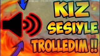 Download KIZ SESİYLE TROLLEDİM !! ÇILDIRIP SÖVDÜLER !! KOMİK ANLAR !!