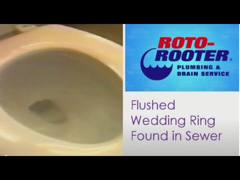 Wedding Disaster: Bride Flushes Ring Down the Toilet