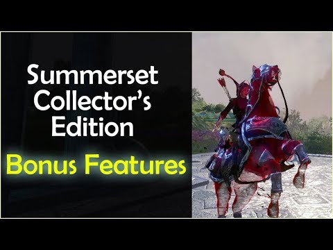 Collector's Edition Digital Bonus Content - Elder Scrolls Online: SUMMERSET