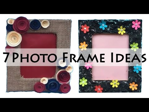 DIY Photo Frame Ideas | Picture Frame Ideas | Photo frame Making At Home