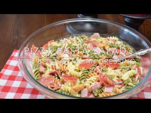 How to Make A Fantastic Pizza Pasta Salad