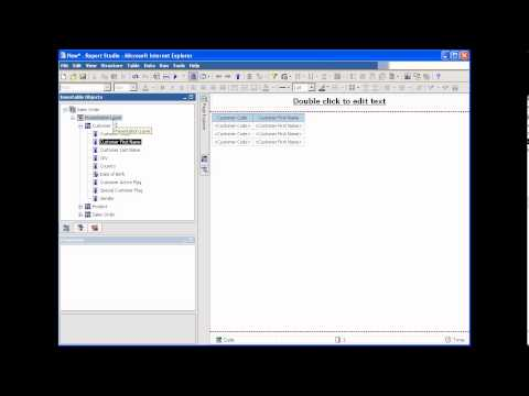 Cognos 10 Training - Advanced - Recover Framework cpf file from Package -Tutorial Part 30-of-30