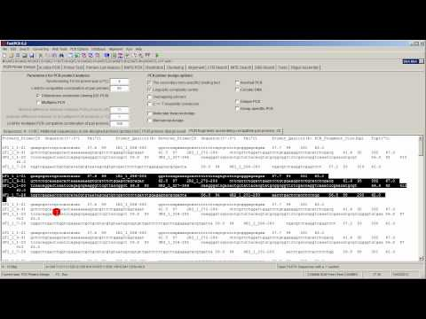 PCR primer design for OE-PCR