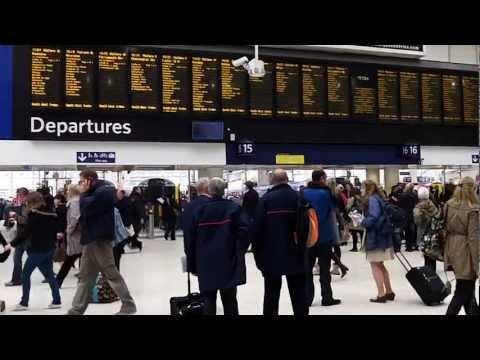 Six minutes at London Waterloo Station