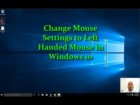 Windows 10 Left Handed Mouse Settings [how-to HD video]