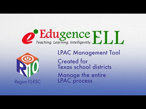 Edugence ELL - Your LPAC Solution
