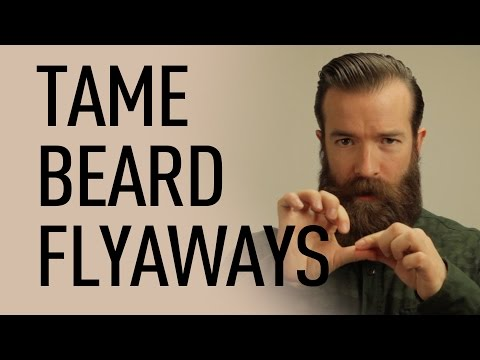 Control Beard Flyaways | Jeff Buoncristiano