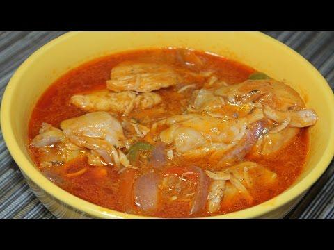 Haitian Stew Chicken / Poule nan Sos