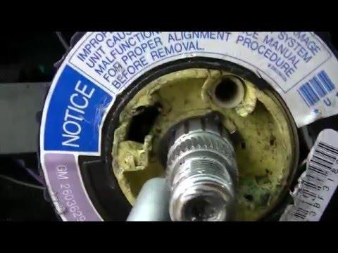 1998 Chevy Lumina: How to replace blinker / hazard light switch