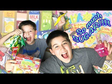 Kids + Sugar = Sugar Rush! - Unboxing Marimo Japanese Candy Club August Box