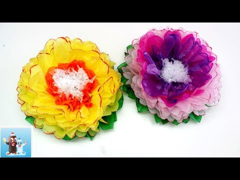 How to Make Amazing Paper Flowers - Art and Craft Ideas