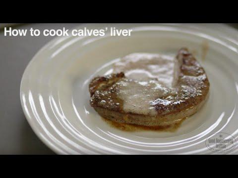 How to cook calves' liver