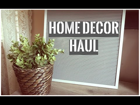 Home Decor Haul: Home Goods, Target, Amazon