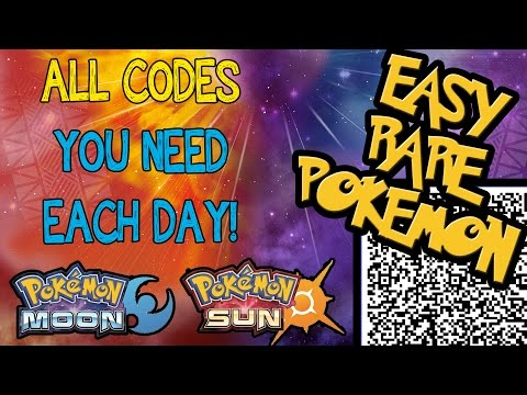 ISLAND SCANNER! 10 Codes To Use Every Day! - EASY RARE POKEMON! - SUN + MOON