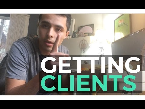 Getting a Client without Leaving the House!