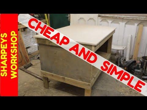 Easy Diy Workbench Build