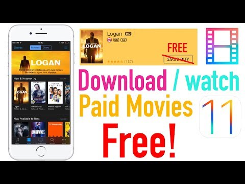 Download/watch paid movies free on iPhone 8/10 iOS 11