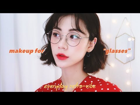 복고 안경 메이크업 👓 MAKEUP FOR GLASSES • RETRO-VIBESㅣJenny Crush