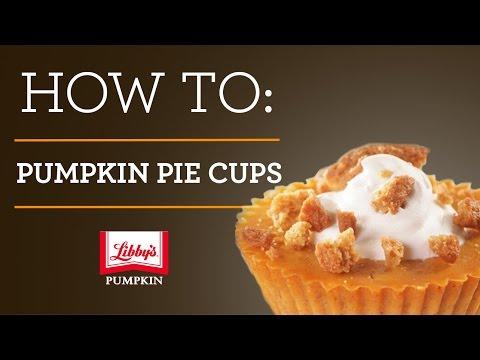 How to Make Crustless Pumpkin Pie Cups