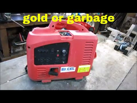 will it run? $20 scrap yard generator.