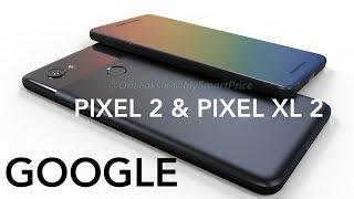 Google Pixel 2 and Pixel XL 2 3D Renders